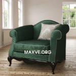 armchair  classic 3dmax Maxve 84