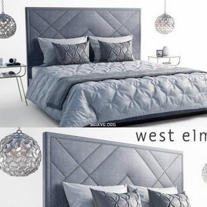 تحميل موديلات  540 west elm upn سرير bed