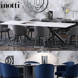 تحميل موديلات  543 Table & chair- طاولة-وكرسي dining set