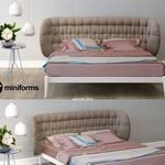 تحميل موديلات  542 Miniform Shiko capitone  سرير bed