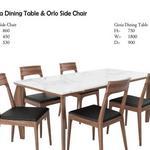 تحميل موديلات  545 Table & chair- طاولة-وكرسي Gioia Dining  & Orlo Side
