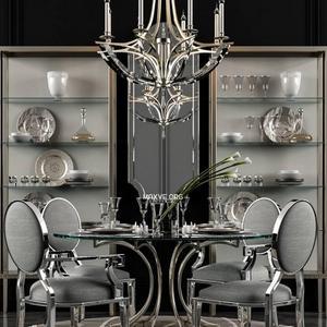تحميل موديلات  546 Table & chair- طاولة-وكرسي Miramont Round Dining