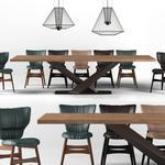 تحميل موديلات  547 Table & chair- طاولة-وكرسي
