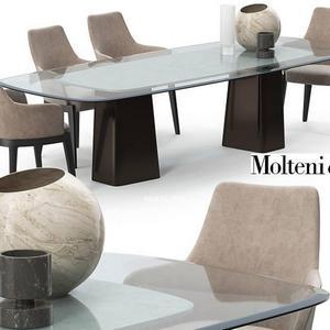 تحميل موديلات  551 Table & chair- طاولة-وكرسي Molteni & C mayfair set
