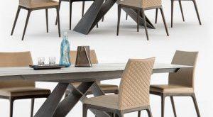 تحميل موديلات  552 Table & chair- طاولة-وكرسي CI Arcadia couture  Premier