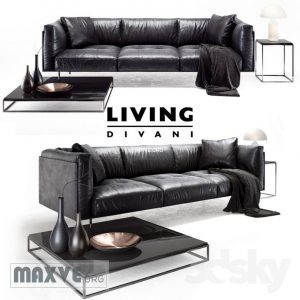 650 Divanci كنب Divanci  Living divani leather rod