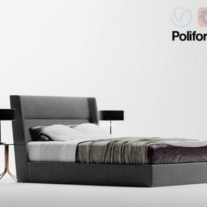 تحميل موديلات  556 Poliform سرير bed