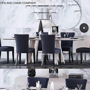 تحميل موديلات  559 Table & chair- طاولة-وكرسي