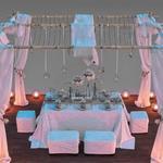 تحميل موديلات  561 Table & chair- طاولة-وكرسي besedka