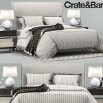 تحميل موديلات  561 Crate & Barrel سرير bed