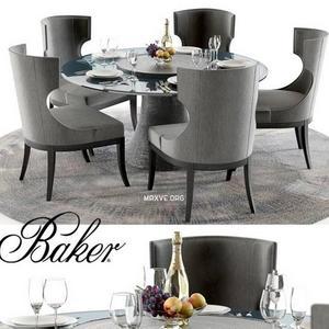 تحميل موديلات  562 Table & chair- طاولة-وكرسي katoucha marat