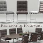تحميل موديلات  566 Table & chair- طاولة-وكرسي RH Modern Rossi Spyder
