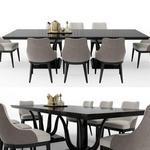 تحميل موديلات  568 Table & chair- طاولة-وكرسي GALIMBERTI NINO