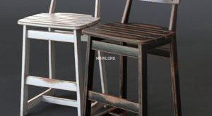 تحميل موديلات  880 TAJA STOOL-02 Chair كرسي