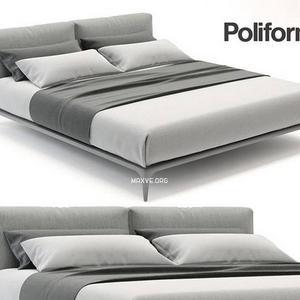 تحميل موديلات  195 poliform park  سرير bed