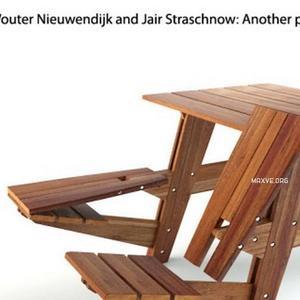 تحميل موديلات  226 Table & chair- طاولة-وكرسي Wouter Nieuwendijk and Jair Straschnow