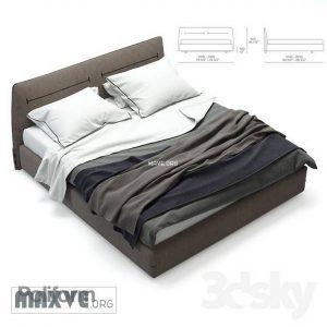 تحميل موديلات  198 Jacqueline poliform سرير bed