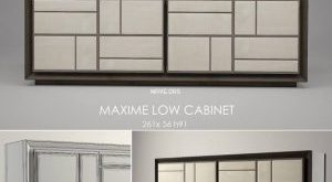 تحميل موديلات  157 خزانة-ذات-أدراج Baxter MAXIME