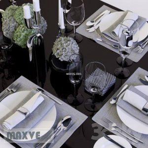 تحميل موديلات  165 أدوات المائدة