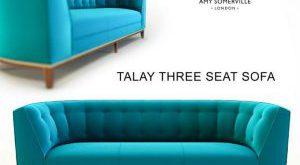 43 تحميل موديلات كنب Talay Three Seat
