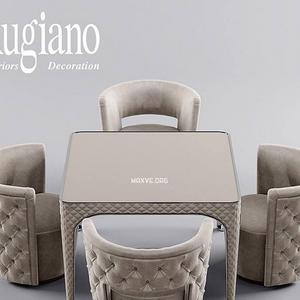 تحميل موديلات  250 Table & chair- طاولة-وكرسي rugiano Giotto