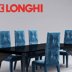 تحميل موديلات  251 Table & chair- طاولة-وكرسي LONGHI