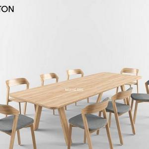 تحميل موديلات  255 Table & chair- طاولة-وكرسي TON MERANO  STELVIO