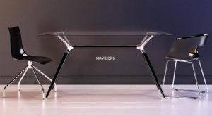 تحميل موديلات  260 Table & chair- طاولة-وكرسي SCAB Design Metropolis MissB Zebra