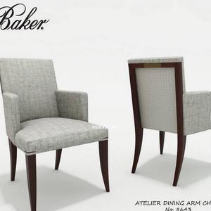 تحميل موديلات  882 Baker_Atelier_dining_chair_8643 كرسي