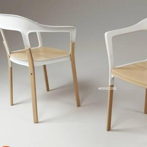 تحميل موديلات  493 magis_steel wood Chair 3dmodel كرسي