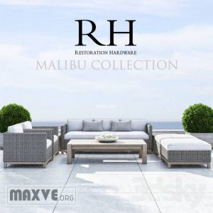 80 Rh malibu collection كنب RH Malibu Collection
