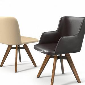 تحميل موديلات  591 cattelan MULAN Chair كرسي
