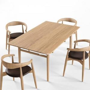 تحميل موديلات  264 Table & chair- طاولة-وكرسي Carl Hansen