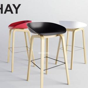 تحميل موديلات  594 HAY About a Stool Chair كرسي