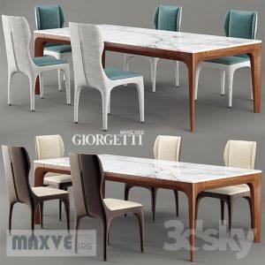 تحميل موديلات  265 Table & chair- طاولة-وكرسي