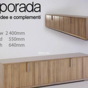 تحميل موديلات  171 خزانة-ذات-أدراج Porada Tamigi Sideboard