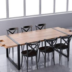 تحميل موديلات  267 Table & chair- طاولة-وكرسي zanotta raw & ton nr150 set