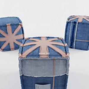 تحميل موديلات  598 vintage_pouf Chair كرسي