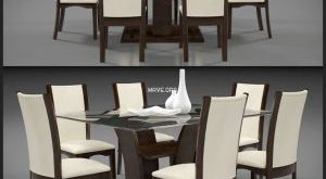 تحميل موديلات  268 Table & chair- طاولة-وكرسي DINING