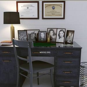 تحميل موديلات  273 Table & chair- طاولة-وكرسي
