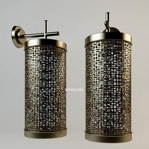 تحميل موديلات  238 مصابيح الحائط