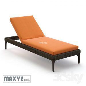 تحميل موديلات  615 Dedon_Mu Chair كرسي