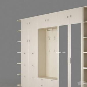 تحميل موديلات  36 Wardrobe - خزائن