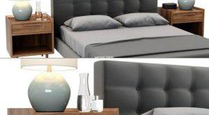 تحميل موديلات  242 Crate & Barrel سرير bed