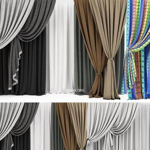 تحميل موديلات  380 ستائر Curtain ستائر
