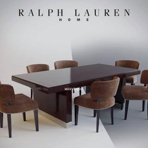 تحميل موديلات  284 Table & chair- طاولة-وكرسي Ralph Lauren Dinner