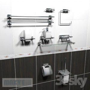 تحميل موديلات  2 إكسسوارات الحمام