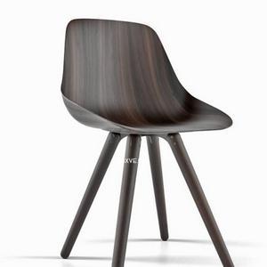 تحميل موديلات  638 Poliform Harmony chair wood Chair كرسي