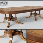 تحميل موديلات  287 Table & chair- طاولة-وكرسي PROVASI 1213 Oval