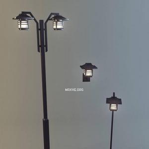 تحميل موديلات  31 أضاءه الشوارع والاضاءه التقنية